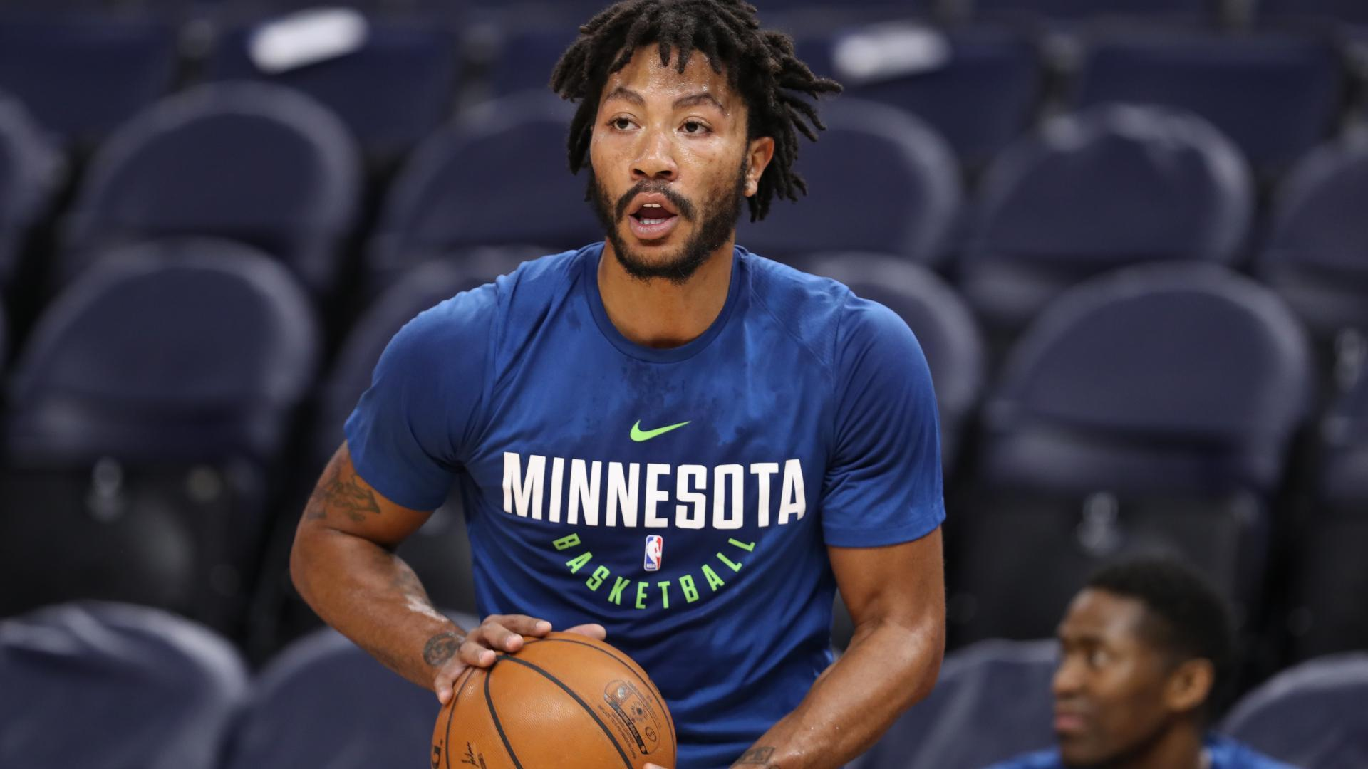 e6e9a4dc9d9 Derrick Rose blocks out doubters as he starts new journey in ...