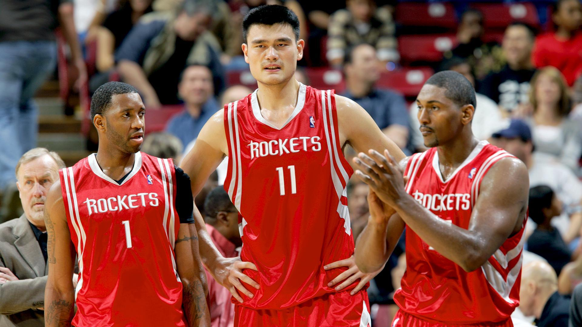 9431c804635c The third-longest win streak in NBA history included 10 victories after Yao  Ming was lost for the season.