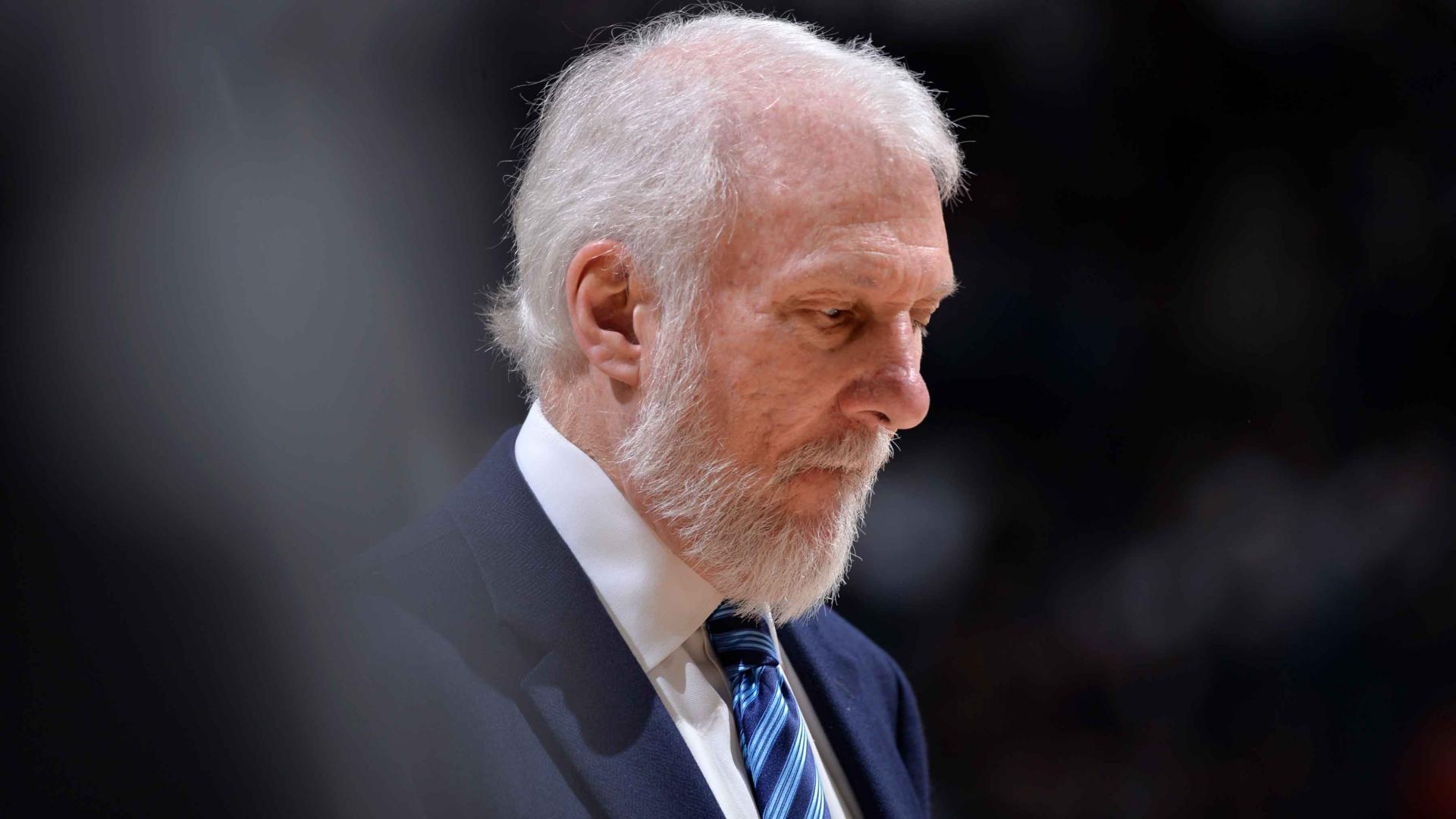 Gregg Popovich Wont Coach San Antonio Spurs In Game  Against Golden State Warriors