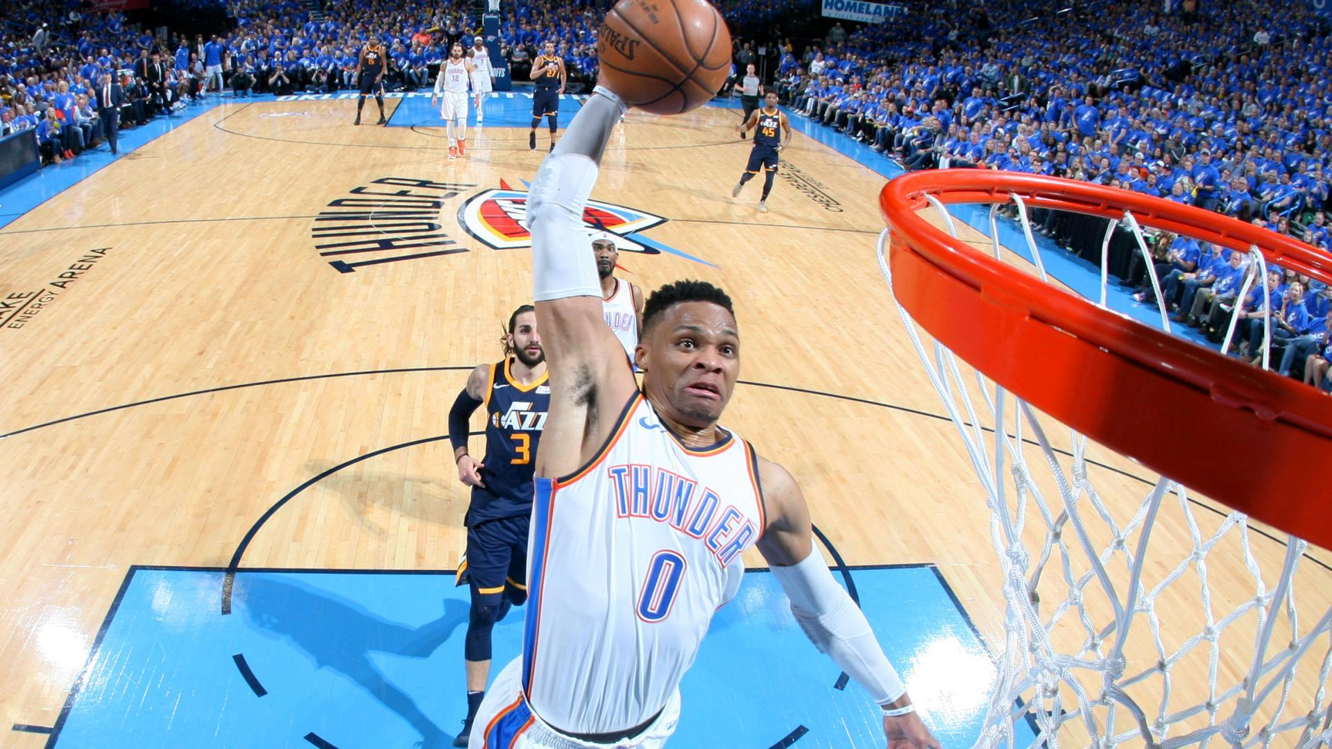1d4debc85df6 Russell Westbrook Vicious Dunks