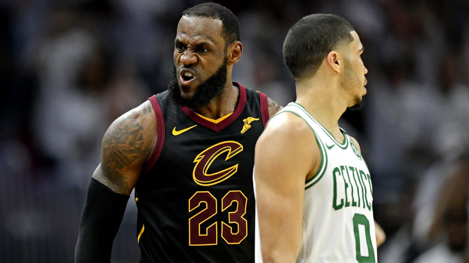sports shoes 53782 e4ea5 Turning Point: LeBron, Cavs take control after Love injury ...