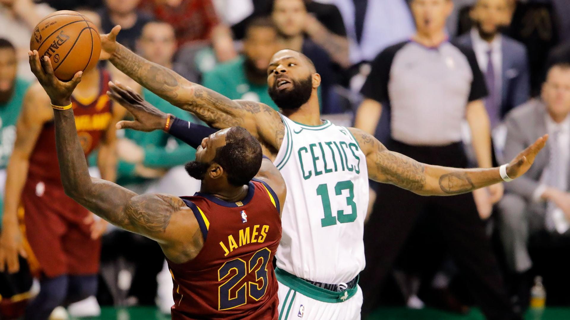Boston Celtics: Marcus Morris shows up when it matters most