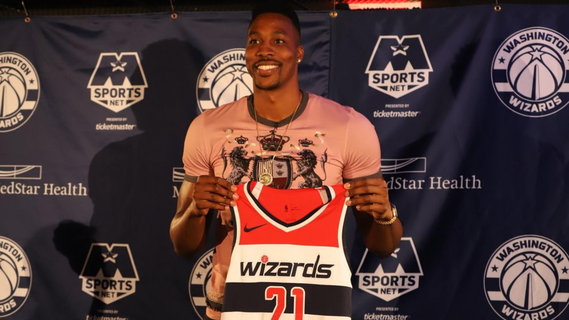 Wizards' Dwight Howard Reveals John Wall's Role In Rejecting Warriors