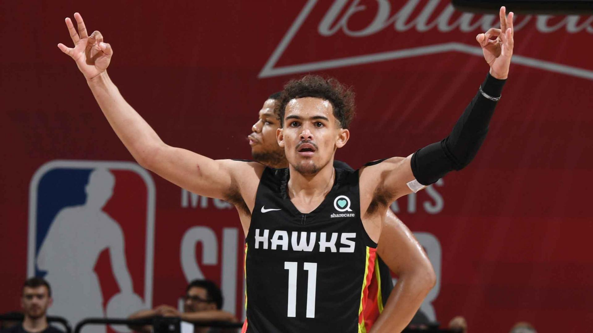 45177e45ad1c 00 00. Trae Young showed off some impressive skills at NBA Summer League.