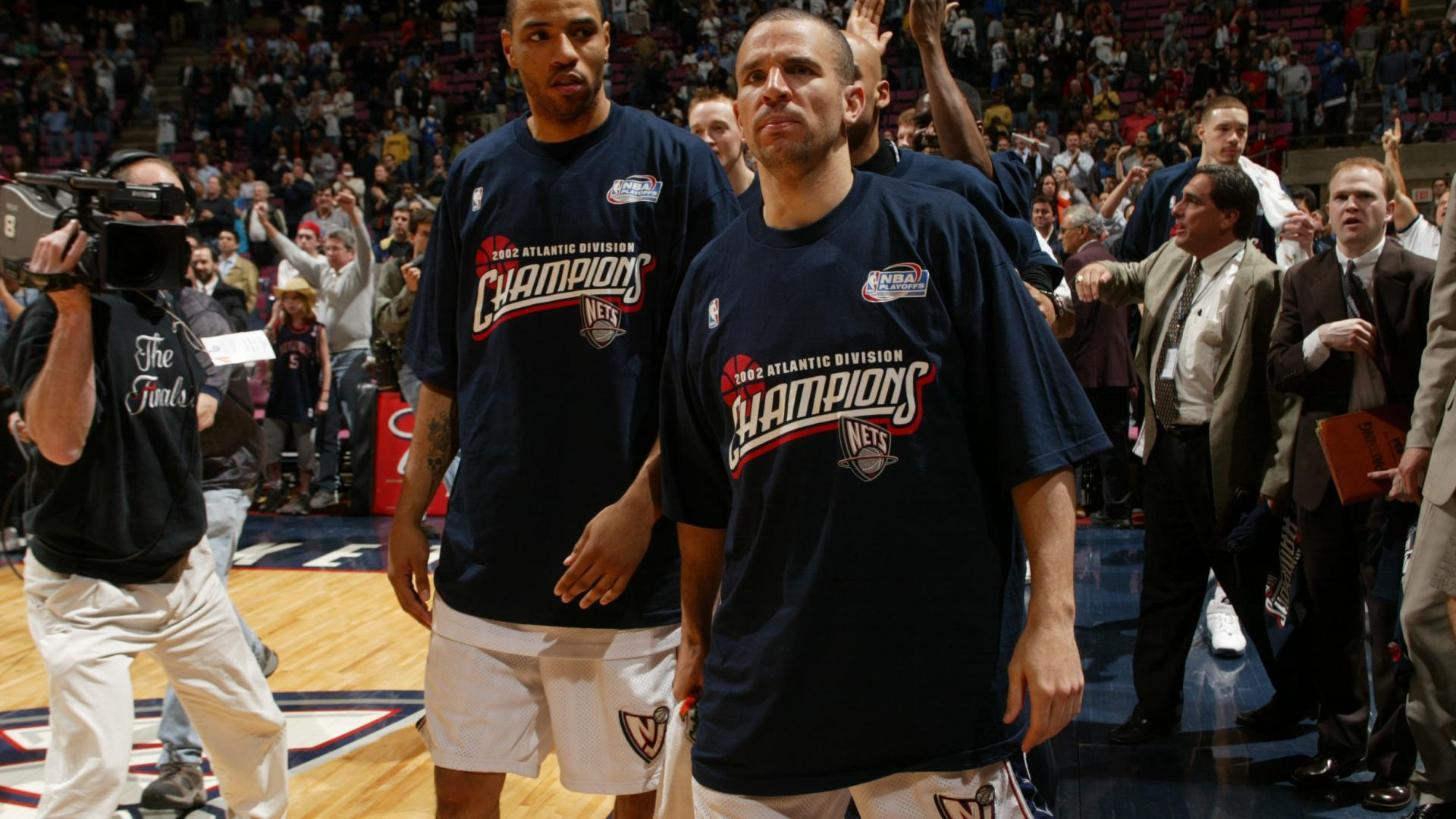 b91ca596900 Jason Kidd led the Nets to new heights in the 2001-02 season.