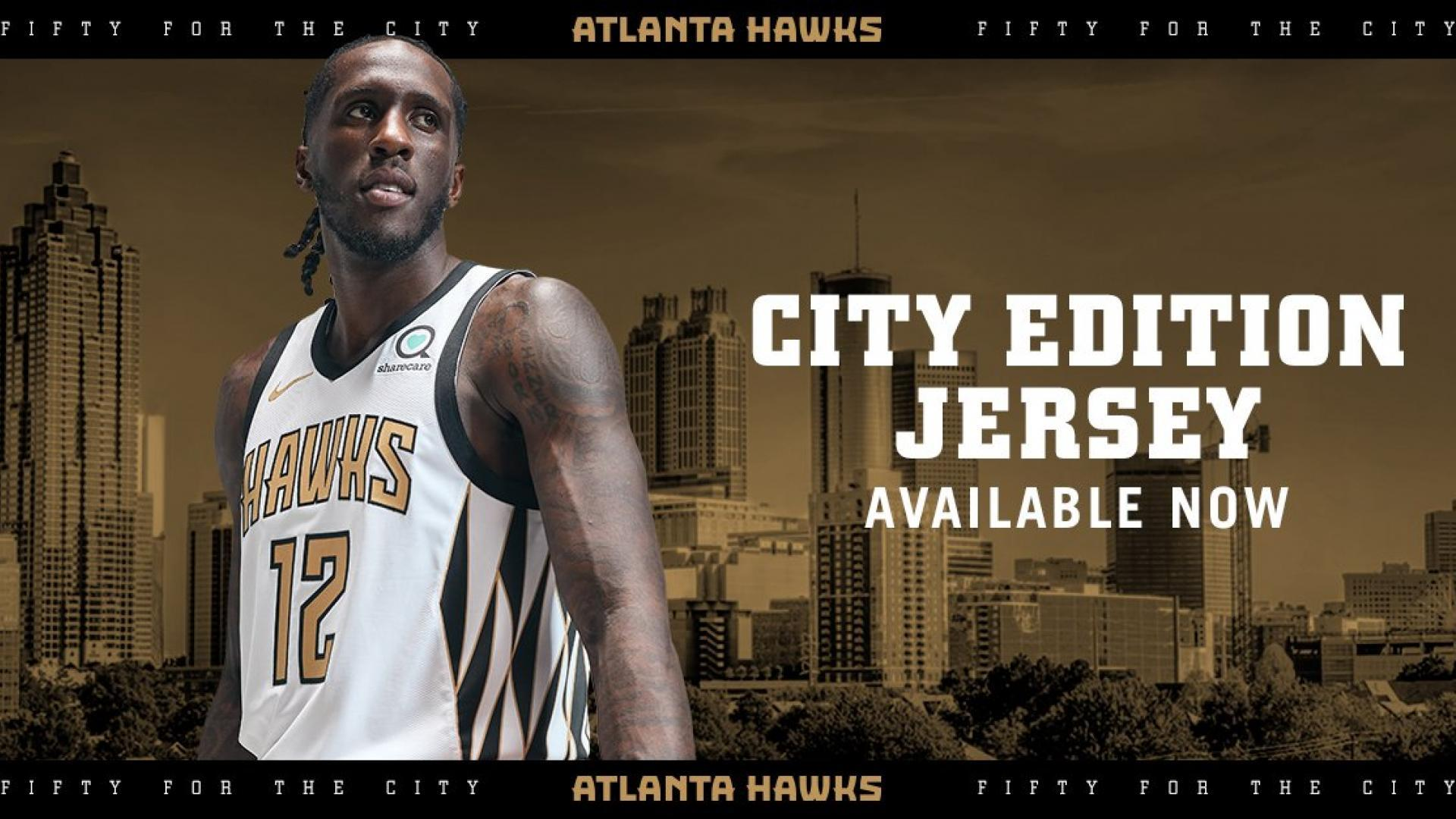 8f8118e6e The Hawks are celebrating 50 years in Atlanta with their City Edition unis.