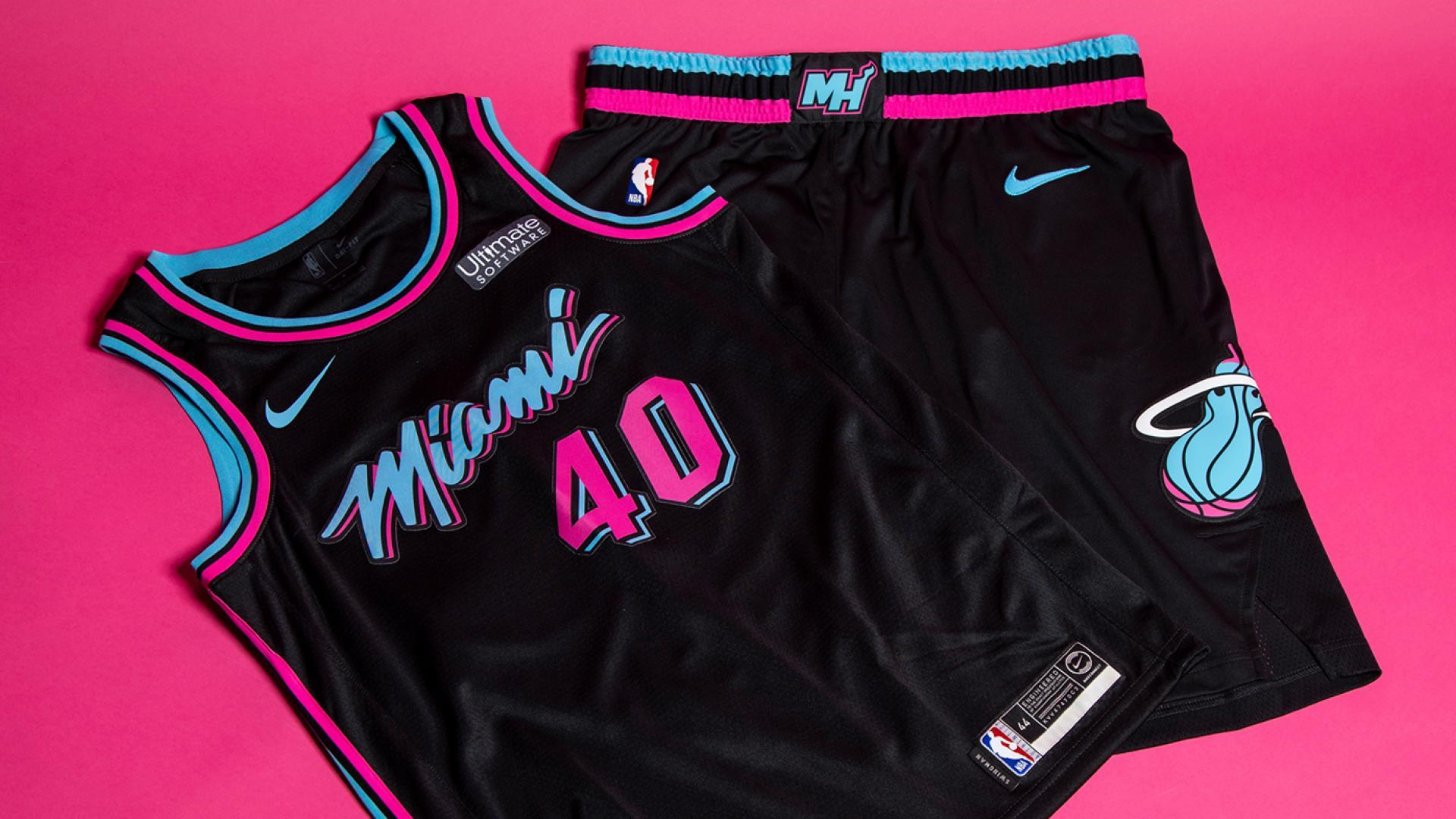The Heat will again sport their popular