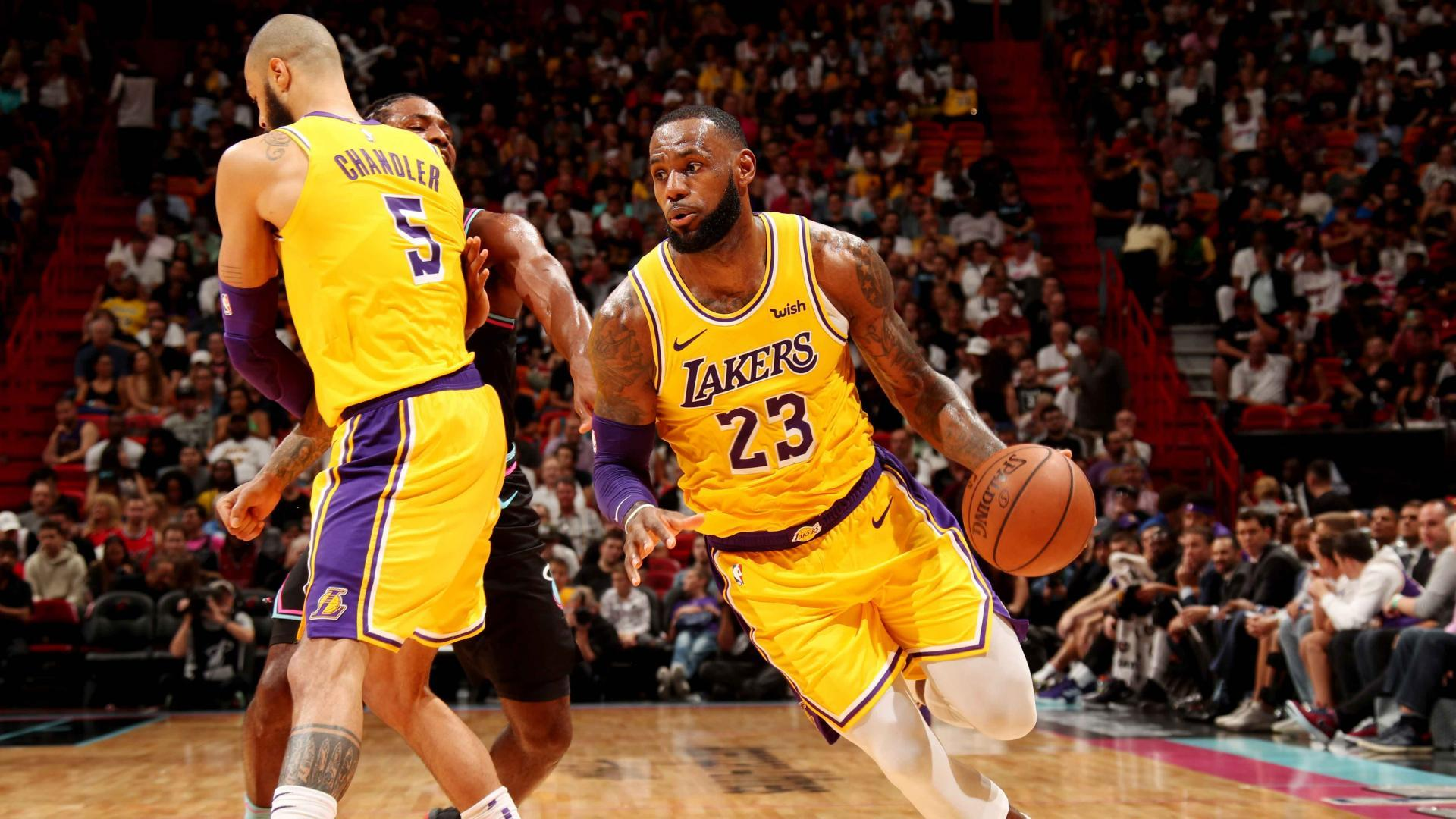 19.11.18. Обзор. GAME RECAP: Lakers 113, Heat 97