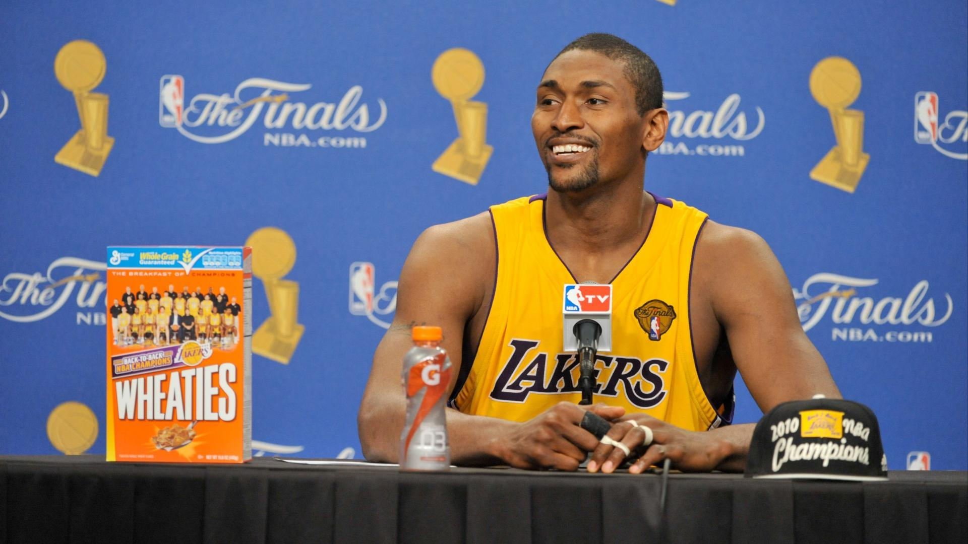bc09b70105b Ron Artest finds peace amid mental health journey