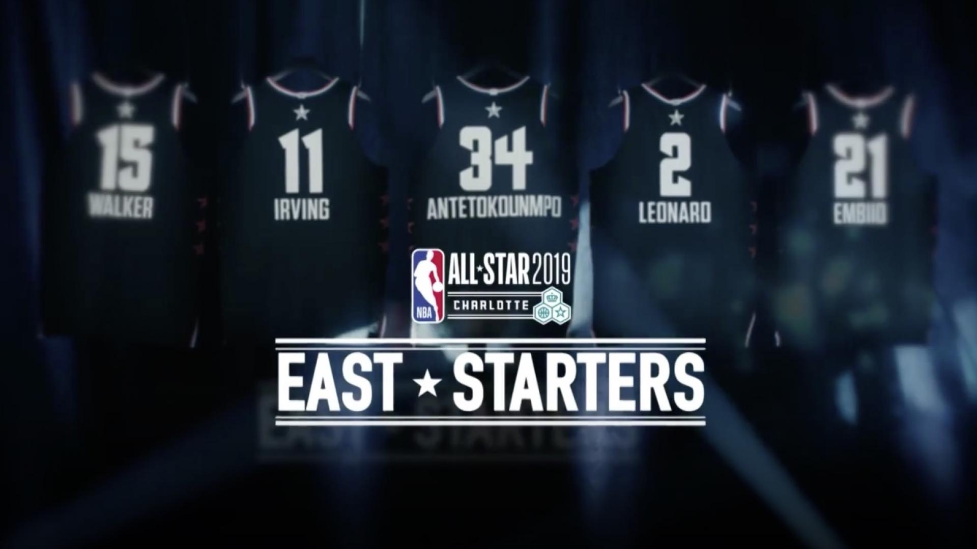 Captains Lebron Giannis Highlight Starters For Nba All Star 2019