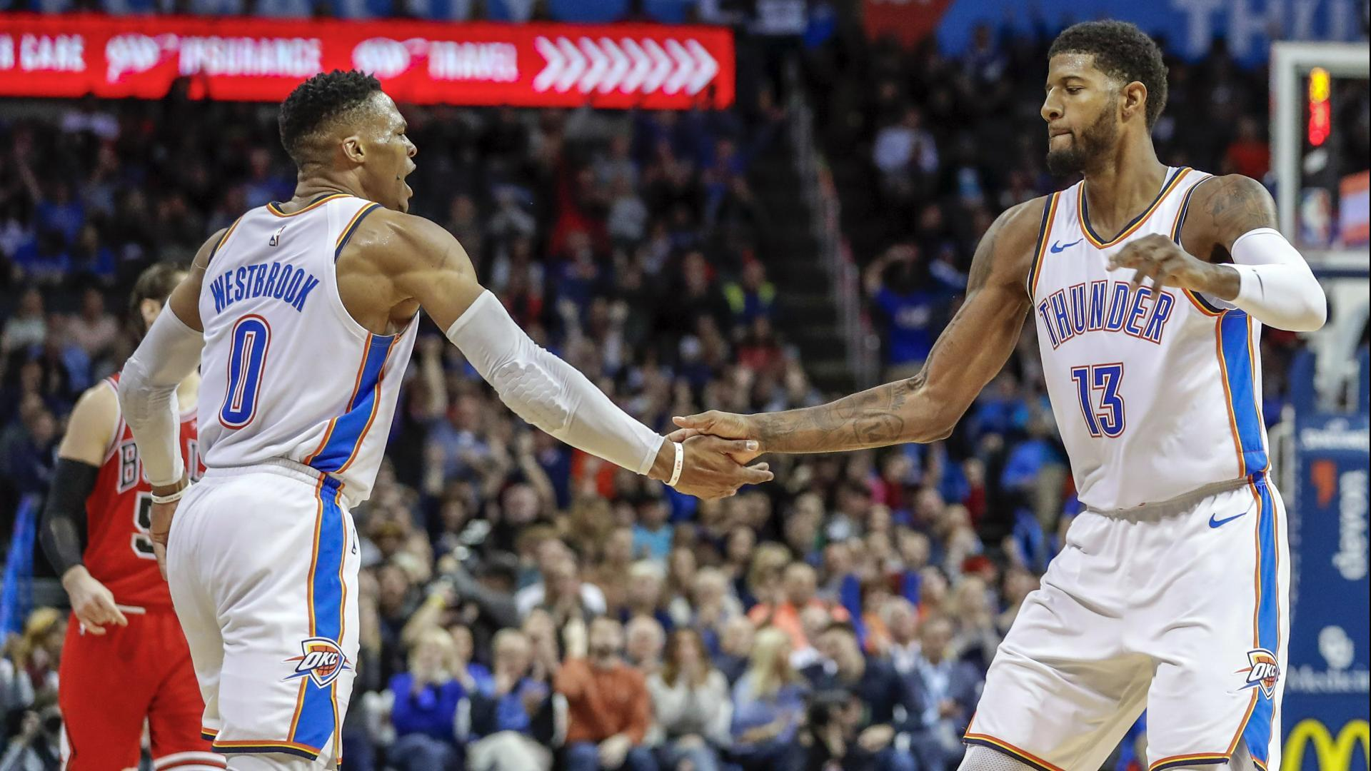 Paul George And Russell Westbrook Taking Thunder To New