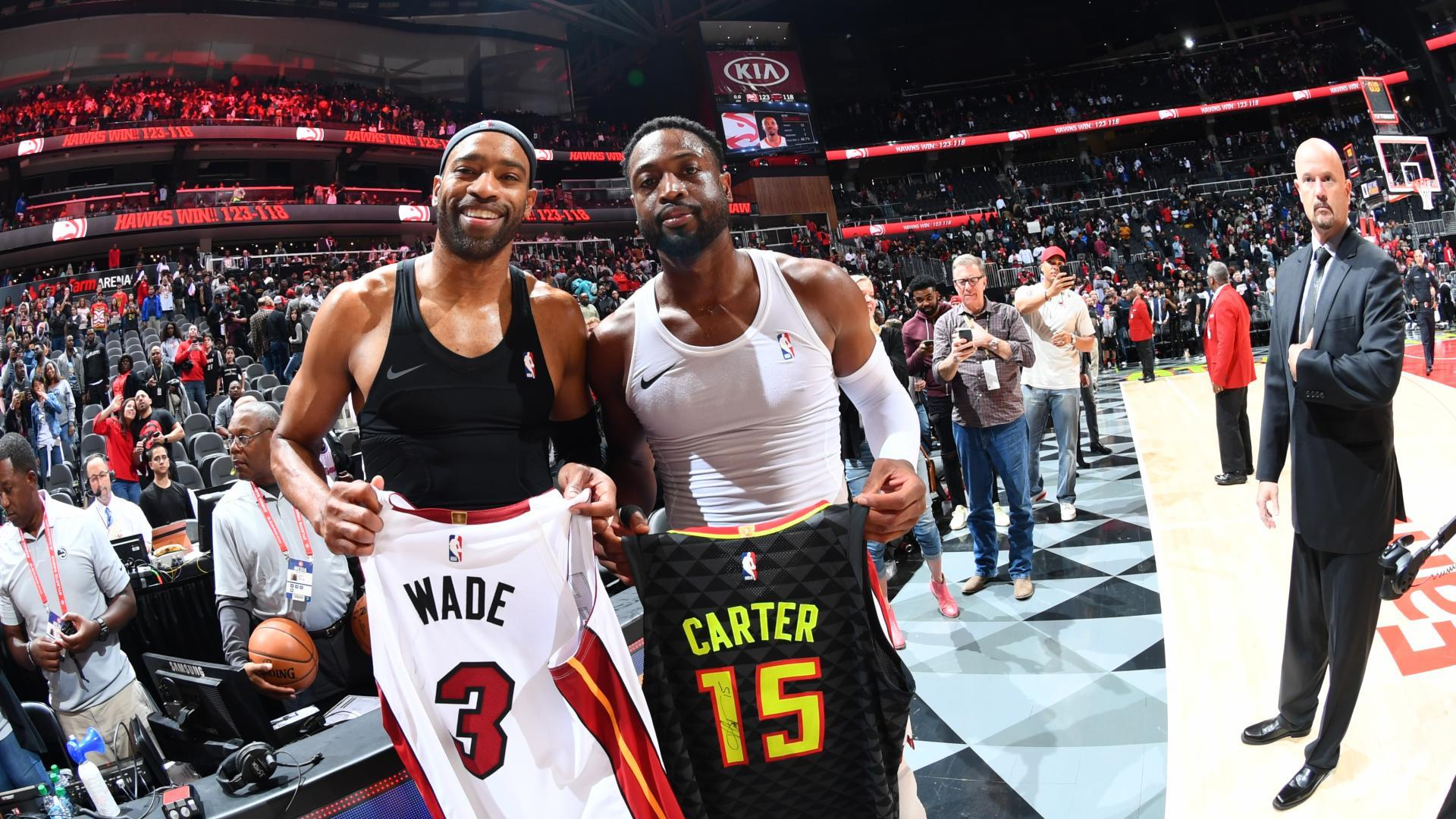 Behind the scenes of Dwyane Wade's final National Basketball Association  game
