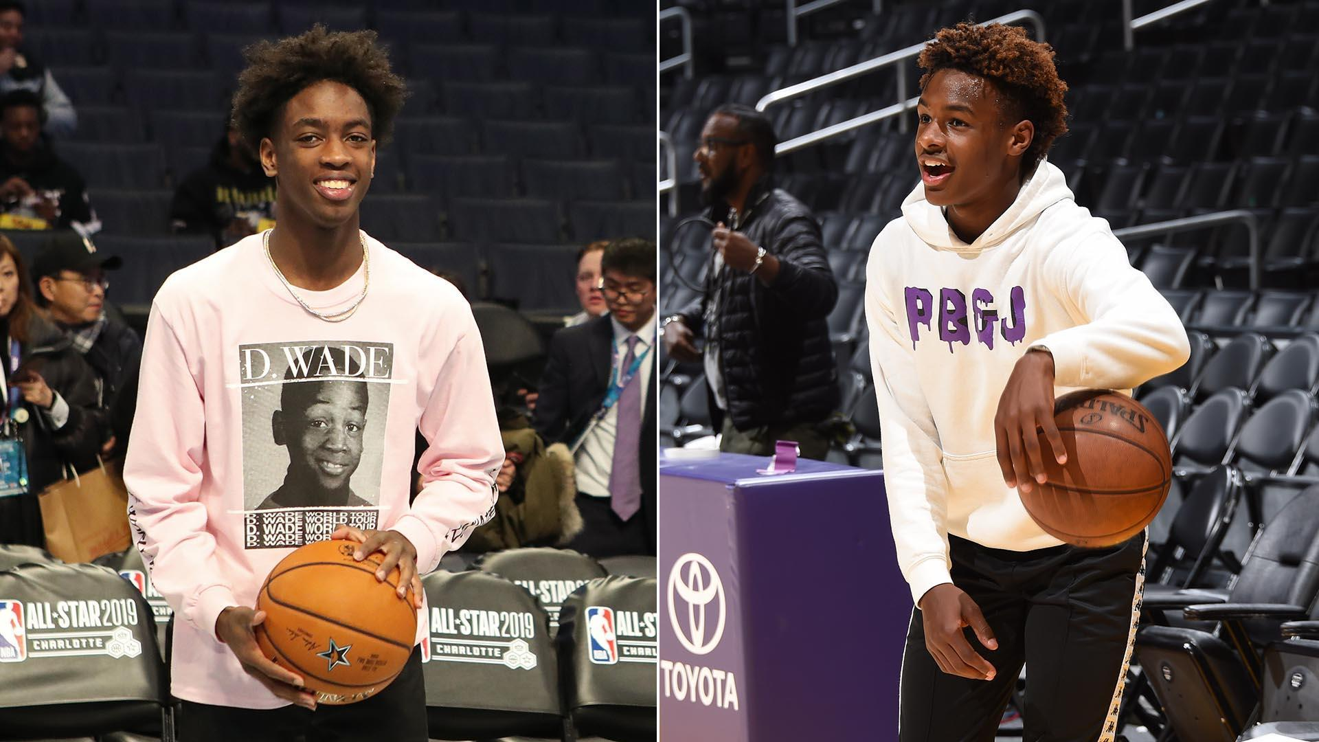 Reports: Sons of LeBron, Wade set to team up in high school