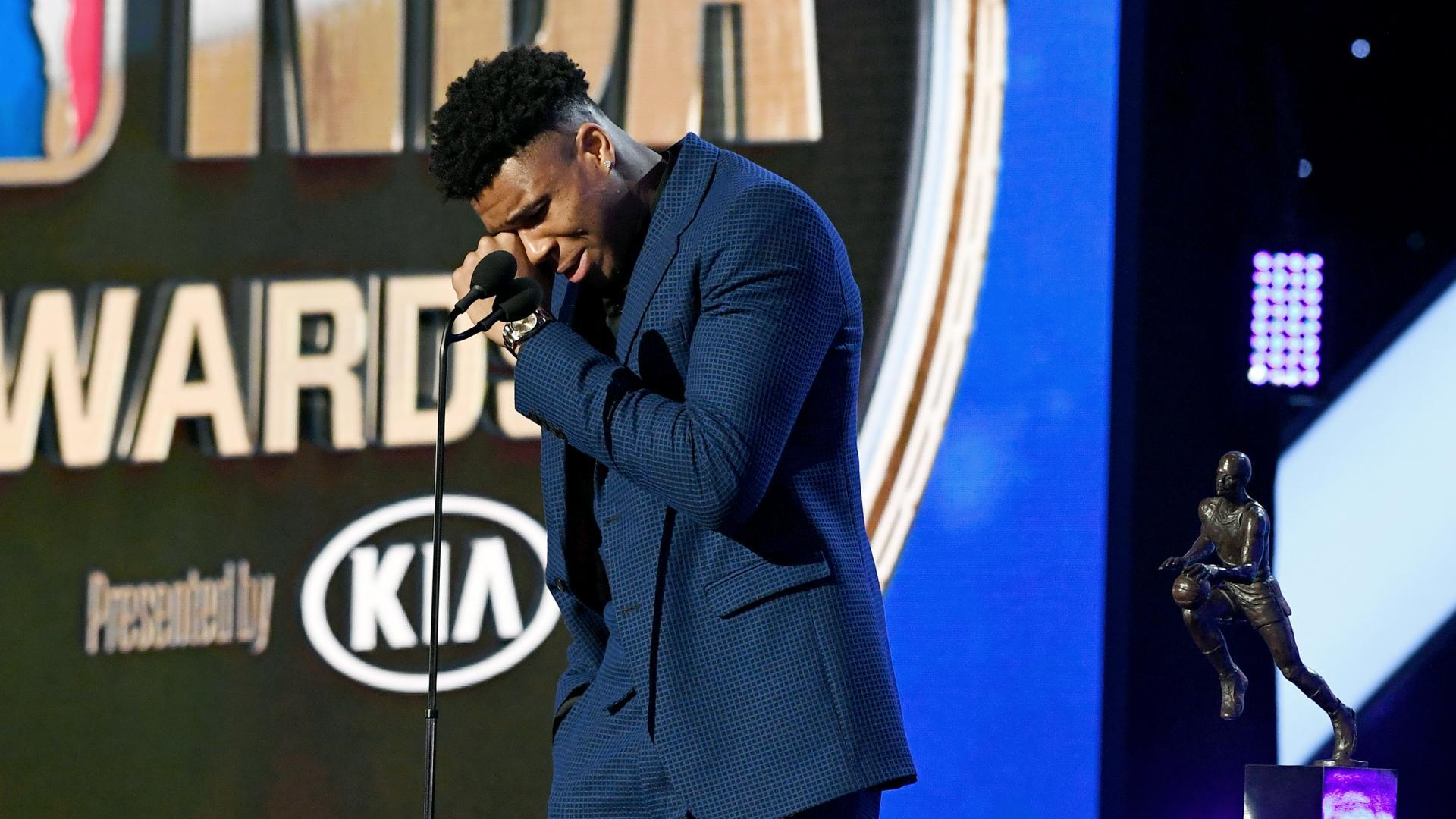 Giannis Named Kia Most Valuable Player Nbacom