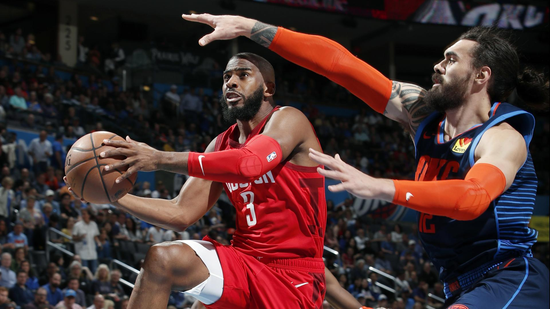 new product 3b8b6 e5bca Oklahoma City acquires Chris Paul, two first-round draft ...