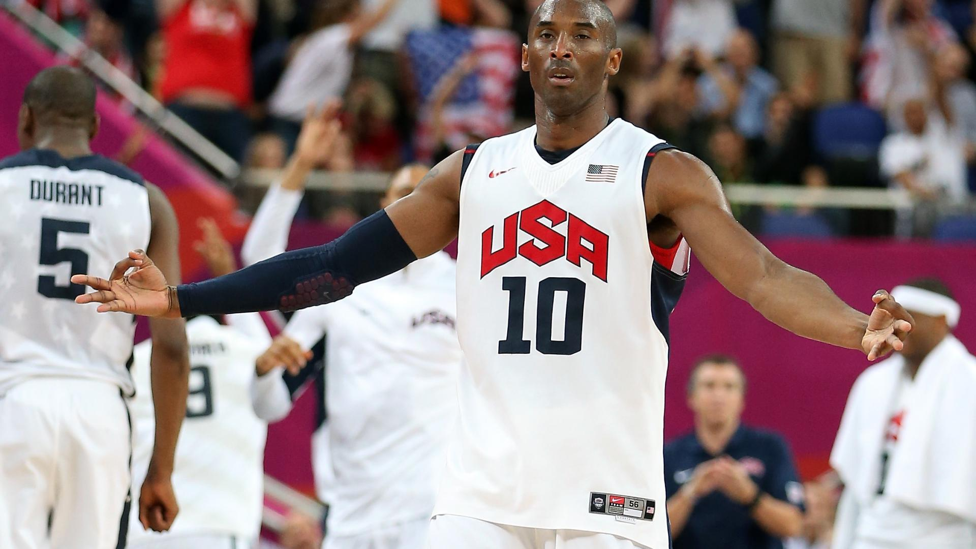official photos dd0f1 88701 Kobe Bryant: Easy days for USA Basketball are likely 'over ...