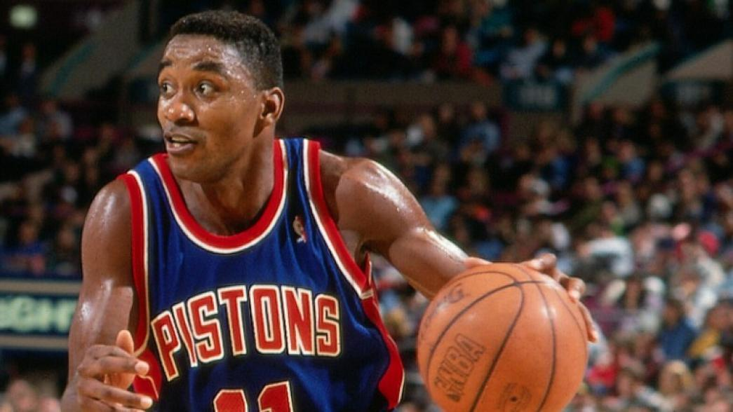 Top Moments: Heroic Isiah Thomas hobbles to record 25-point quarter in Finals   NBA.com