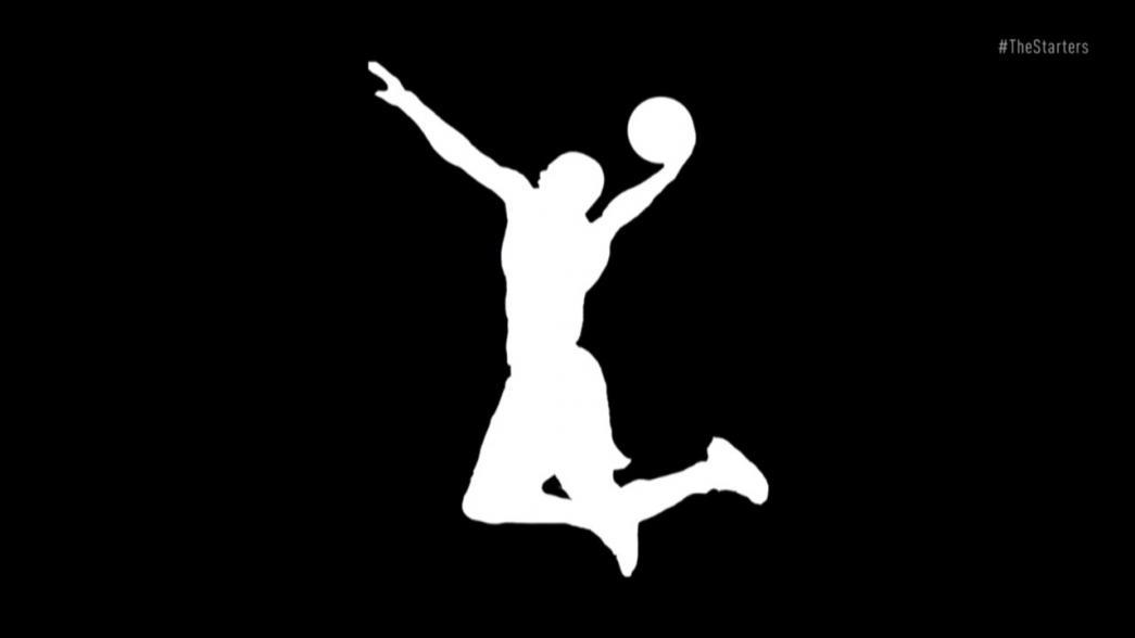 Cool Basketball Black And White: The Starters: Cool NBA Logos