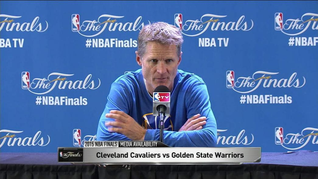 Finals Media Availability: Steve Kerr | NBA.com
