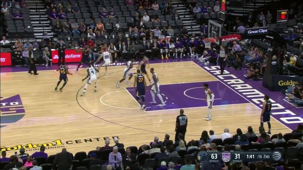 Great dish from Donovan Mitchell in the second quarter | NBA.com
