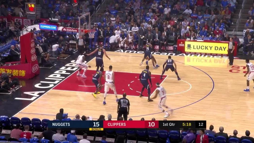 3-pointer by Lou Williams in the first quarter | NBA.com