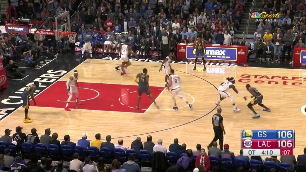 Andre Iguodala sinks the shot at the buzzer in overtime   NBA.com