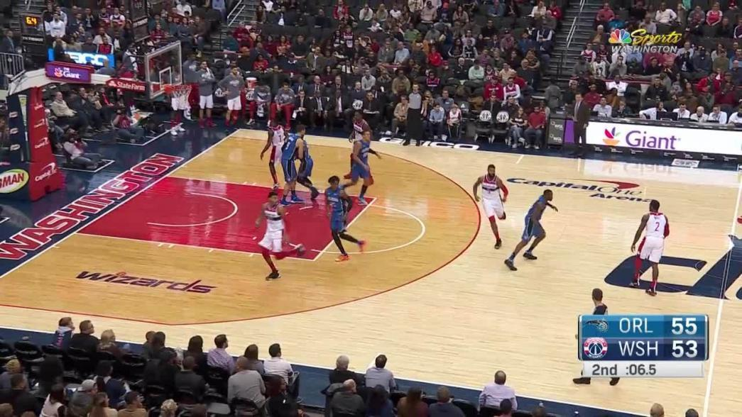 2-pointer by John Wall in the second quarter | NBA.com