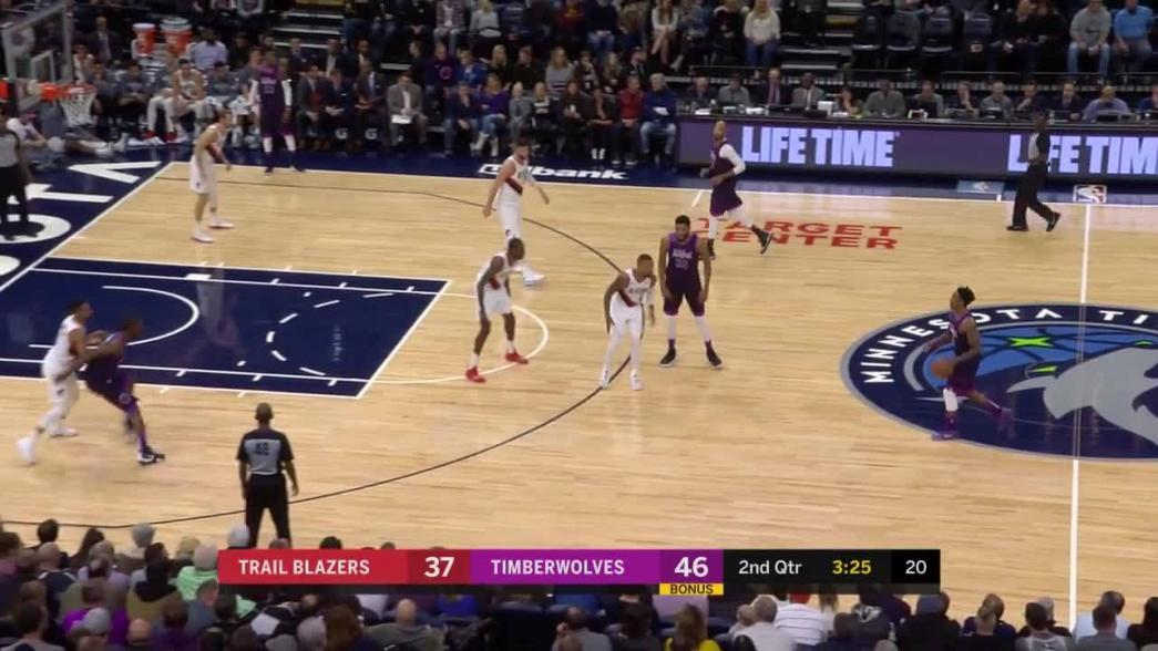2-pointer by Andrew Wiggins in the second quarter   NBA.com