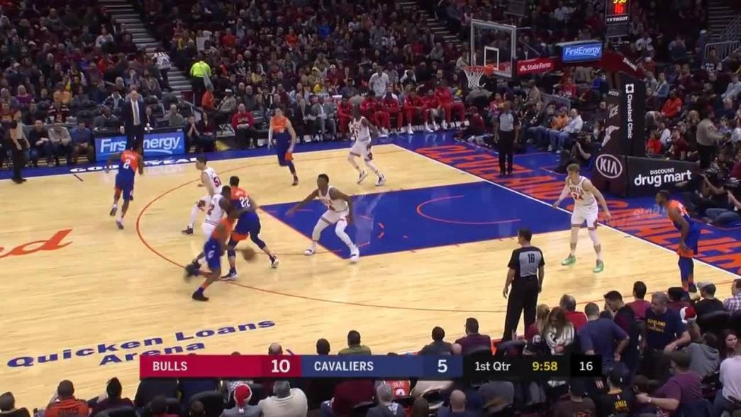 Cedi Osman spins his way to the hoop for the layup in the first quarter   NBA.com