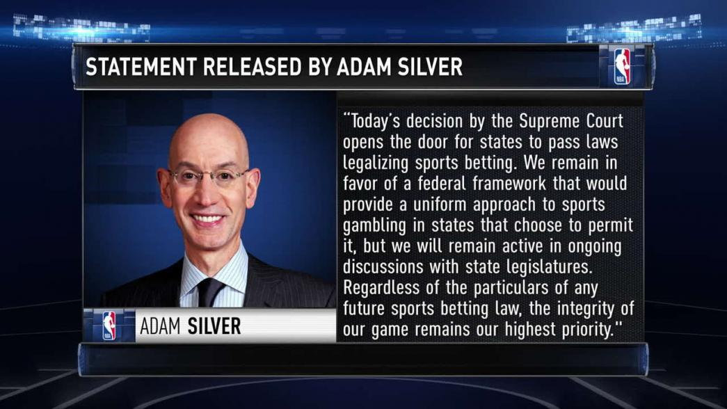 In wake of Supreme Court ruling, NBA preparing for impact of sports betting | NBA.com