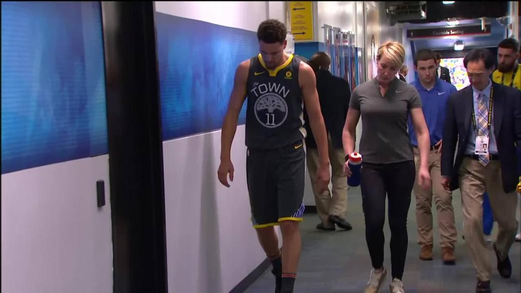 Golden State Warriors list Klay Thompson, Andre Iguodala as questionable for Game 5