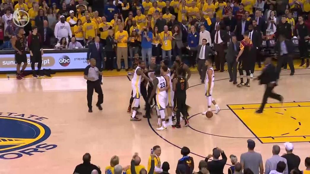 Cleveland Cavaliers center Tristan Thompson fined $25,000 for Game 1 altercation; foul downgraded to Flagrant 1