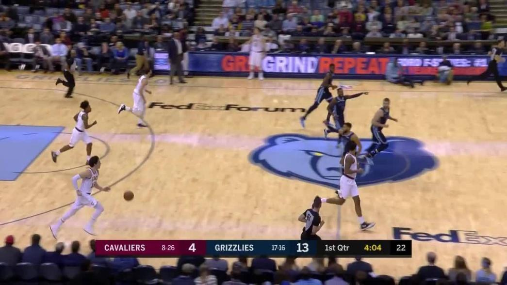 Cedi Osman flies in and goes reverse for the layup   NBA.com