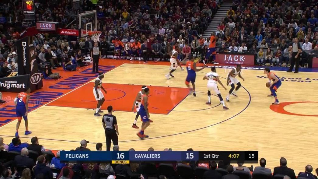 Cedi Osman spins inside for the layup and-one   NBA.com