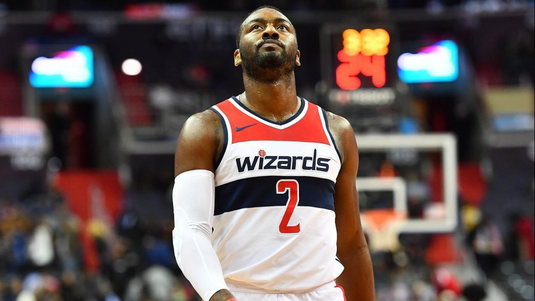 outlet store c30d1 f025b Washington Wizards' John Wall out two weeks with discomfort ...