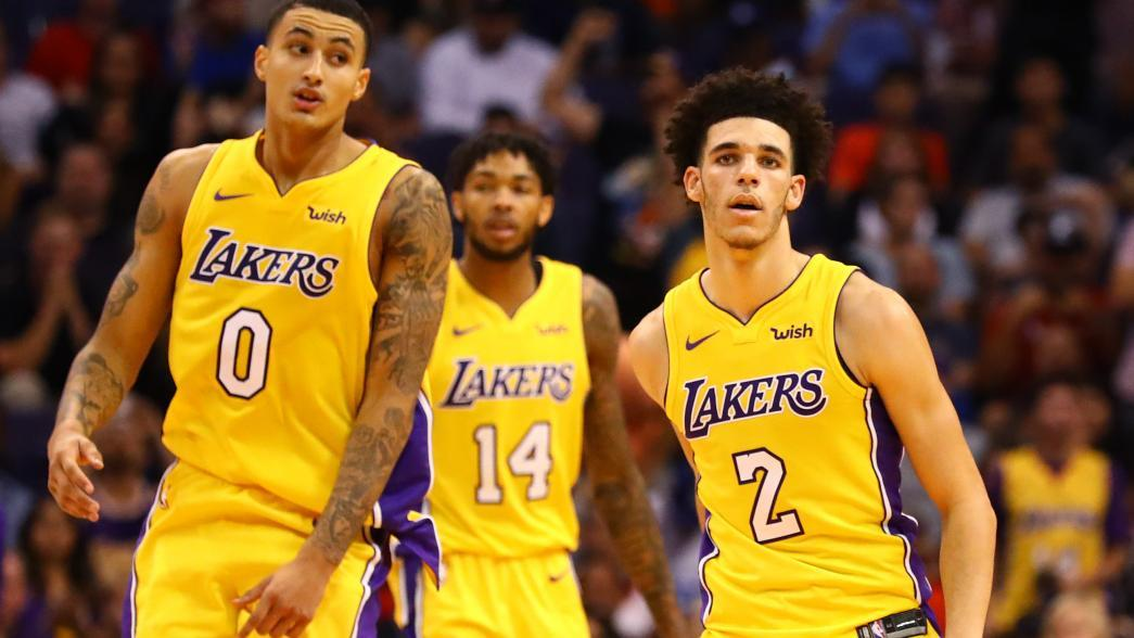 Young, talented roster giving Los Angeles Lakers glimpses ...