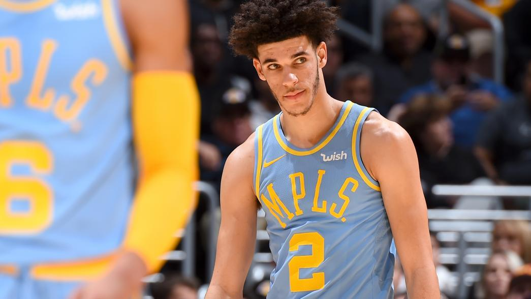 Lonzo Ball Awards >> Los Angeles Lakers' Lonzo Ball working to get game back on track | NBA.com
