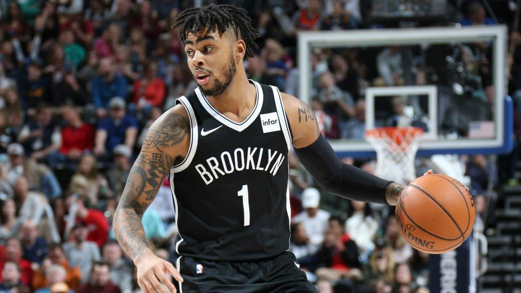 Report: Brooklyn Nets' D'Angelo Russell to miss several games with knee injury  NBA.com