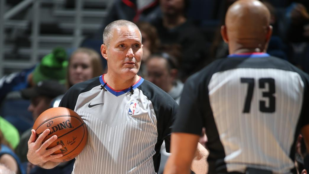 Nba referee assignments