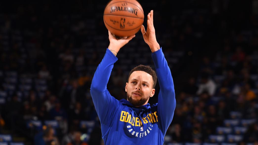 Reports Golden State Warriors Star Stephen Curry Two To Three Practices Away From Return