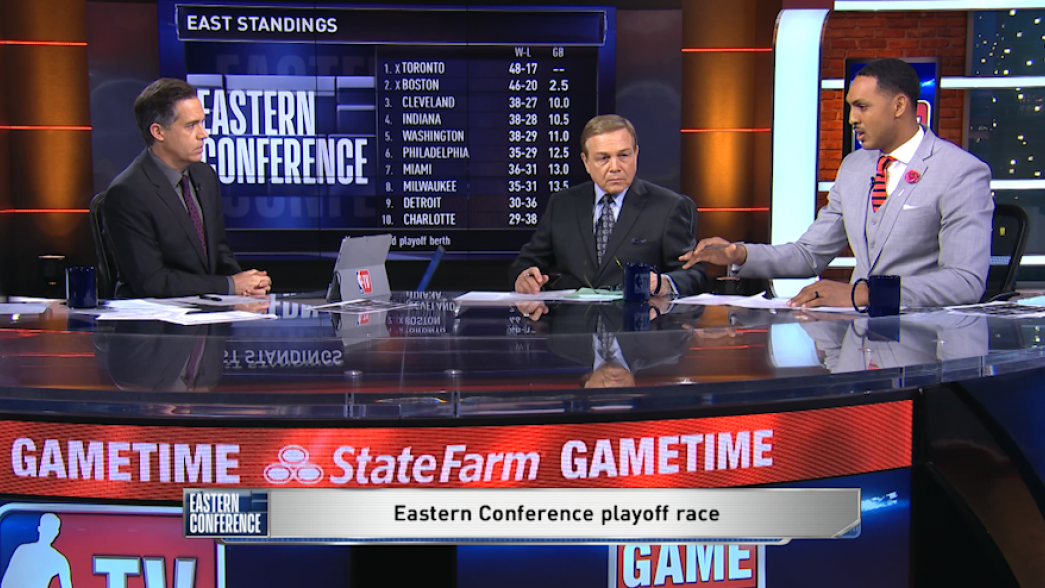 GameTime: Eastern Conference Playoff Race   NBA.com