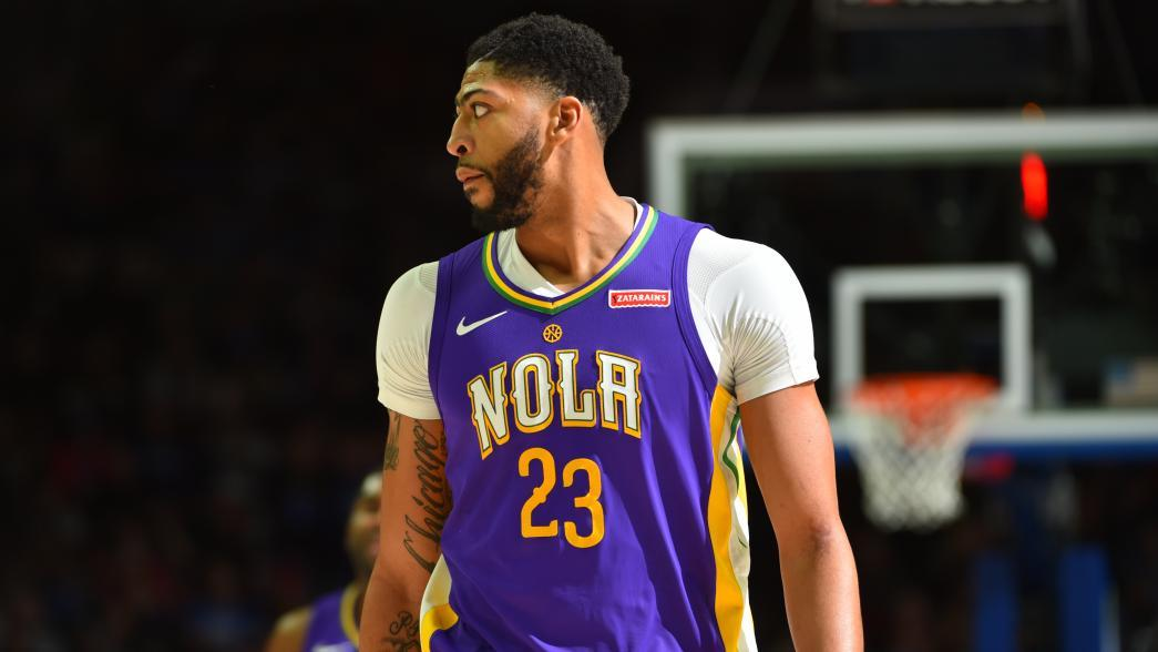 e8f561c98 Anthony Davis signs with Klutch Sports Group