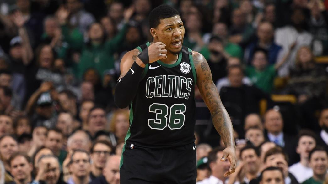 Report Marcus Smart To Have Thumb Surgery Could Return For Playoffs Nba Com
