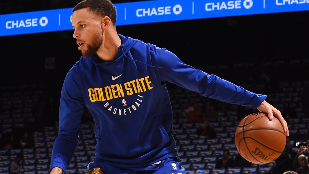 Stephen Curry looks 'great' in first practice back since ...