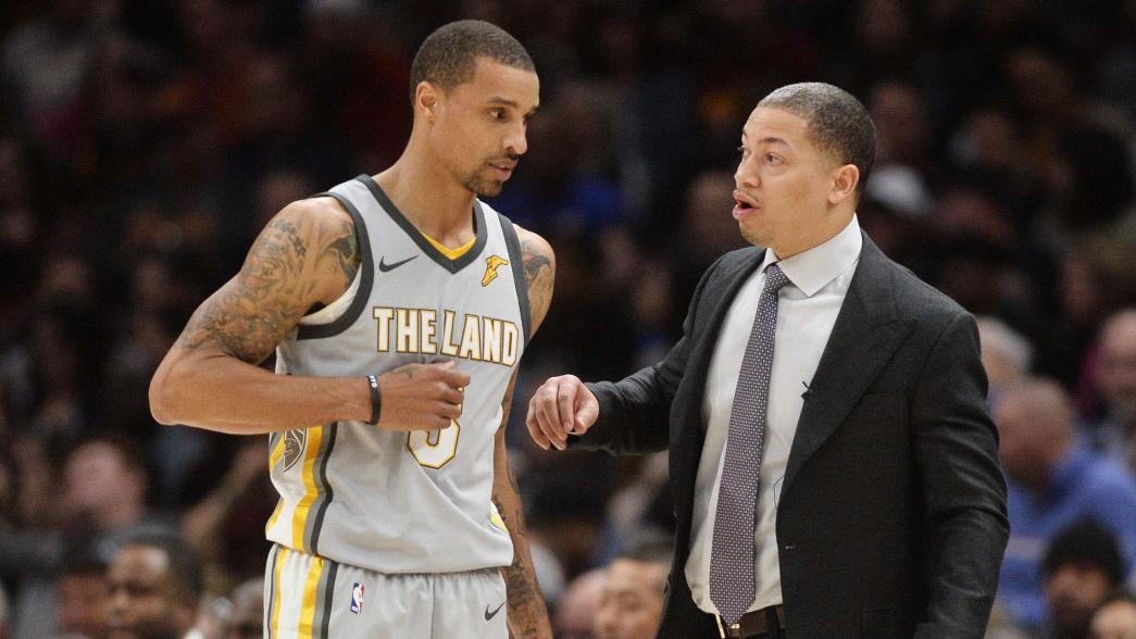 cleveland cavaliers fire tyronn lue, elevate larry drew to interim head coach Cleveland Cavaliers fire Tyronn Lue, elevate Larry Drew to interim head coach USATSI 10673893