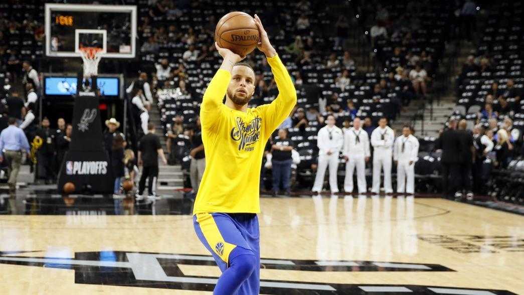 Stephen Curry has 'very positive' practice, questionable for Game 1