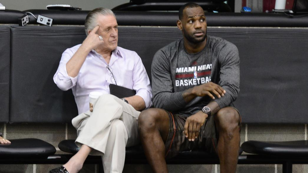 Pat Riley says LeBron James 'did the right thing' when he left Miami Heat | NBA.com