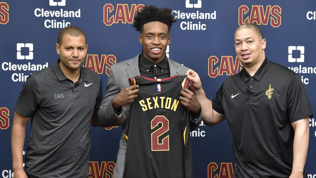 a1a0b22ecfc Collin Sexton to wear Kyrie Irving's No. 2 with Cleveland Cavaliers |  NBA.com