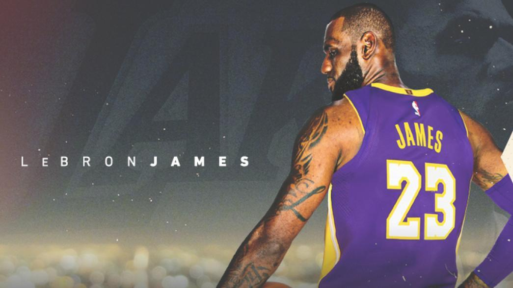 e8953c4c8ab LeBron James officially signs with Los Angeles Lakers