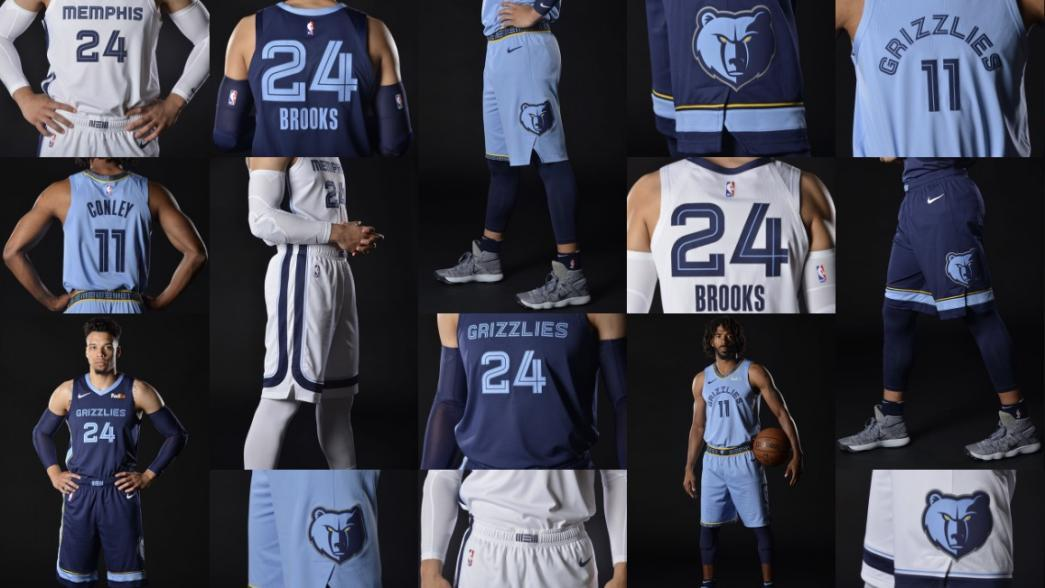 7e951e5a2 The Grizzlies unveiled a new look on Thursday night. Redesigned jerseys and  branding will mark the beginning of a new era for a Memphis team hoping to  ...